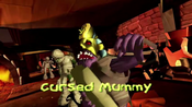 Cursed Mummy 1st encounter