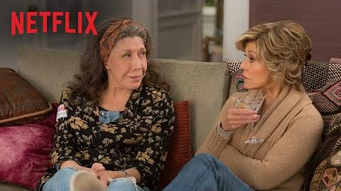 Grace and Frankie Staffel 2 Trailer