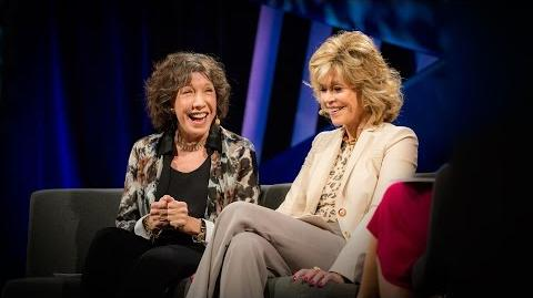 A hilarious celebration of lifelong female friendship Jane Fonda and Lily Tomlin