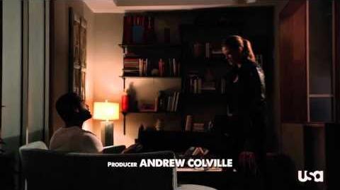 "Graceland, Episode 3 - ""Heat Run,"" Lauren's Russian Take Down"