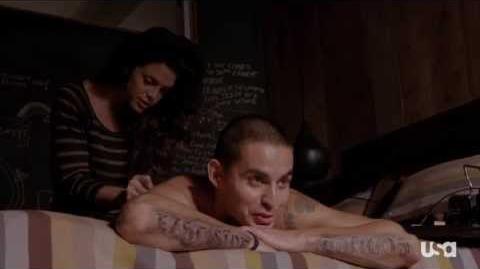 """Graceland, Episode 4 - """"Pizza Box,"""" Johnny's Back Story"""