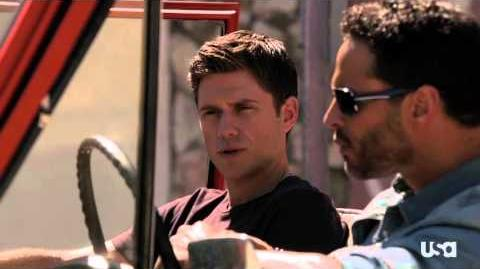 "Graceland, Episode 4 - ""Pizza Box,"" Previously on Graceland"