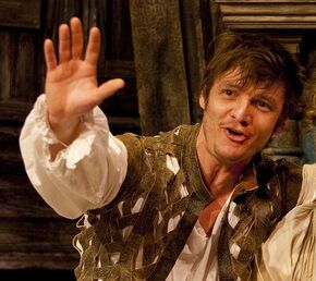 Pedro Pascal in The Miracle at Naples, 2009