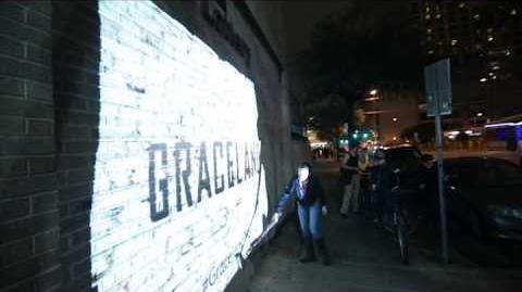 Graceland Video Paint at SXSW