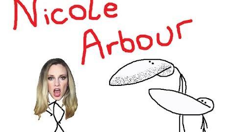 Nicole Arbour vs GradeAUnderA (feat. Nicole's breasts)