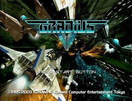 Gradius V Demo Intro