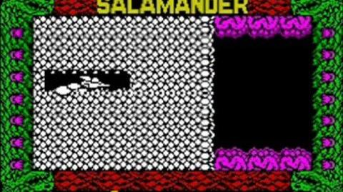ZX Spectrum - Salamander Glitch - Invisible Bullets
