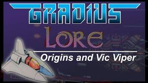 Gradius Lore Episode 1 Origins and The Vic Viper