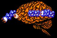 Brain golem gradius II nes