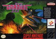 Gradius 3 SNES Cover
