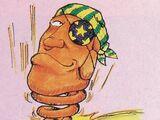Chewing Moai