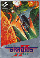 Gradius 2 Famicom Cover