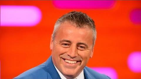 "Matt LeBlanc teaches Graham how to ""smell the fart"" - The Graham Norton Show Episode 4 - BBC One"