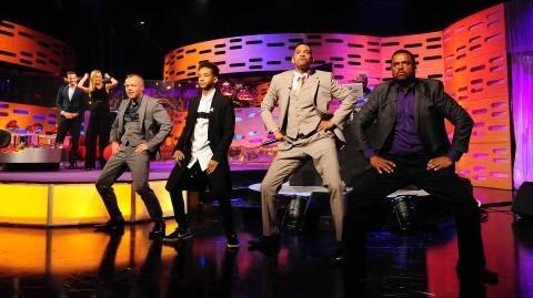 Will & Jaden Smith, DJ Jazzy Jeff and Alfonso Ribeiro Rap! - The Graham Norton Show - BBC One
