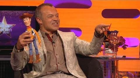 Is the Woody doll's voice really Tom Hanks? - The Graham Norton Show - Series 9 Episode 9 - BBC One