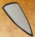 Iron kite shield icon