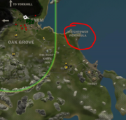 Watchtower peninsula