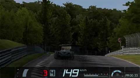 75-1 Gran Turismo PSP Nürburgring Time Trial Replay Bentley Speed 8