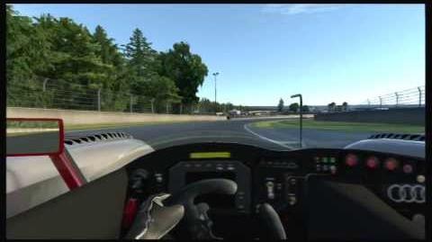 Gran Turismo 6 GT6 Audi R8 Race Car @ La Sarthe - helmet cam
