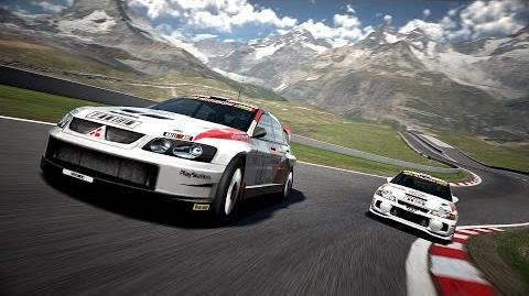 Gran Turismo 6 - Mitsubishi Lancer Evolution Super Rally Car '03 - Matterhorn Rotenboden