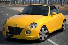 Daihatsu Copen Detachable Top '02