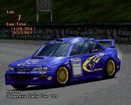Subaru IMPREZA Rally Car '99 (GT2)