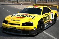 Nissan PENNZOIL Nismo GT-R (JGTC) '99