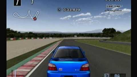 Gran Turismo 4, 421 of 708 cars 2000 Subaru Impreza Sedan WRX STi Version (GD, Type-I)