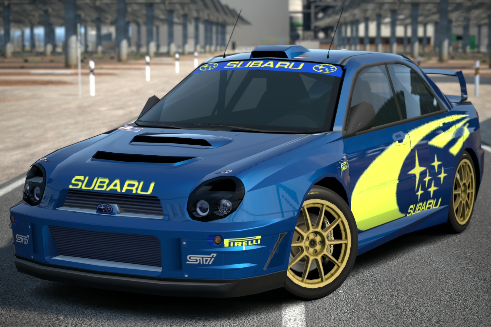 Subaru Rally Car >> Subaru Impreza Rally Car Prototype 01 Gran Turismo Wiki Fandom