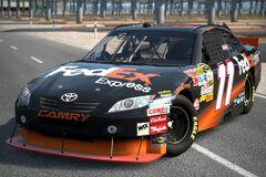 2010 Denny Hamlin ♯11 FedEx TOYOTA CAMRY '10