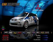 Mitsubishi CZ-3 Tarmac Rally Car (GTC)