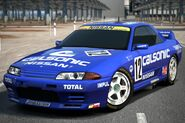 Nissan CALSONIC SKYLINE GT-R Race Car '93