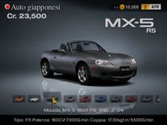 Mazda MX-5 1800 RS (NB, J) '04