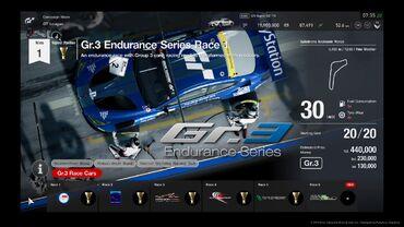 Gran Turismo®SPORT Gr.3 Endurance Series