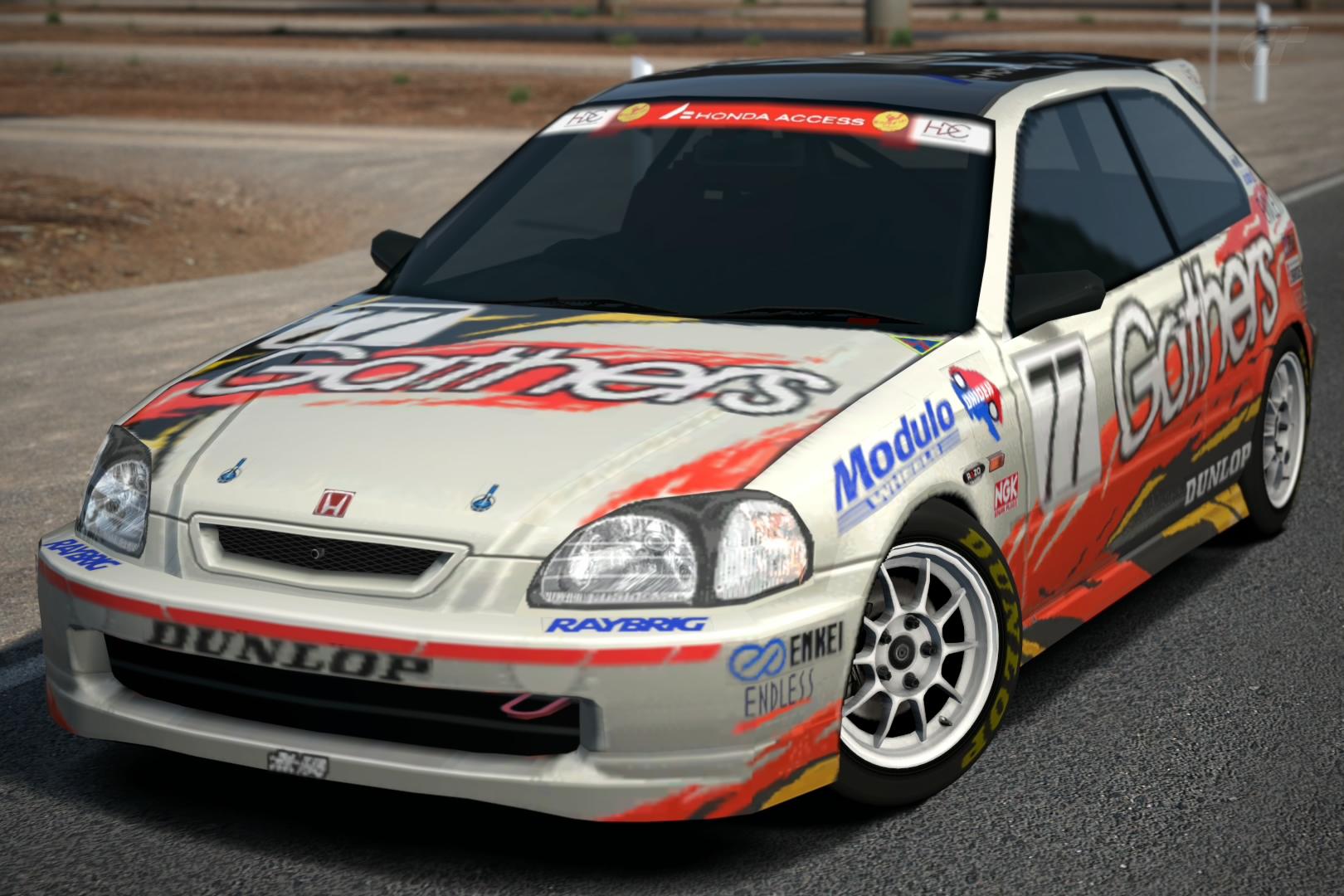 Honda Gathers Drider CIVIC Race Car U002798