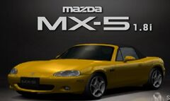 GT3 MX-5 1800 RS (Sunburst Yellow)