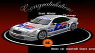 Mercedes Benz CLK Touring Car Prize Car GT3 A Spec