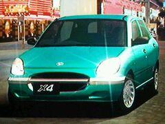 Daihatsu Sirion X4 (Emerald Green)