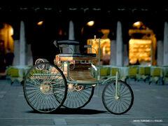 Mercedes Benz Benz Patent Motor Wagen p01
