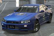 Nissan SKYLINE GT-R V・spec II Nür (GT Academy) '02