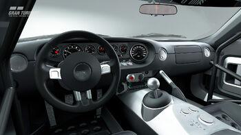 Ford GT LM Spec II Test cockpit