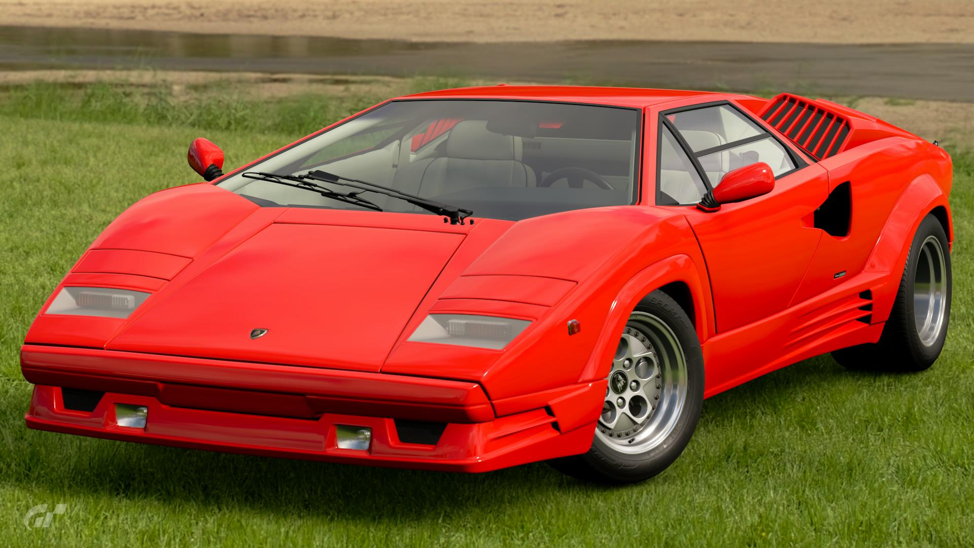 Lamborghini Countach 25th Anniversary 88 Gran Turismo Wiki