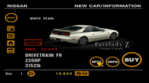 Nissan Fairlady Z 300ZX Version S 2seater (Z32) back