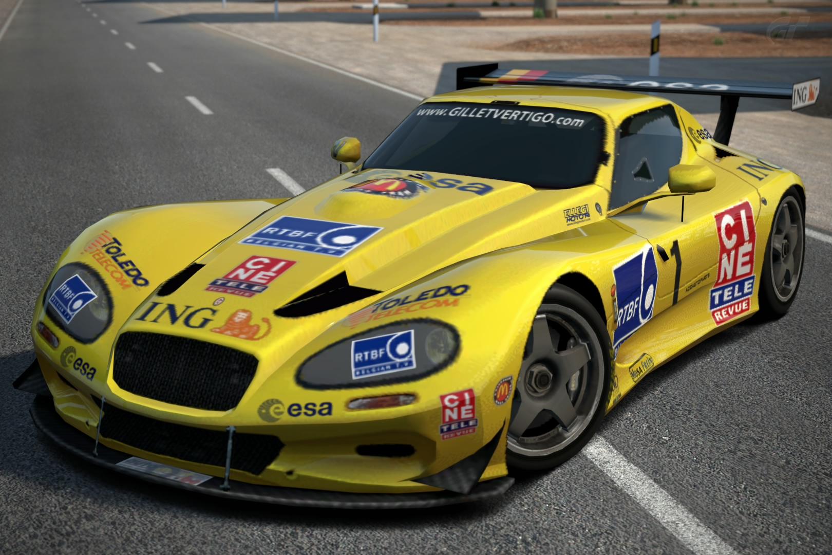 Turismo Car: Gillet Vertigo Race Car '04