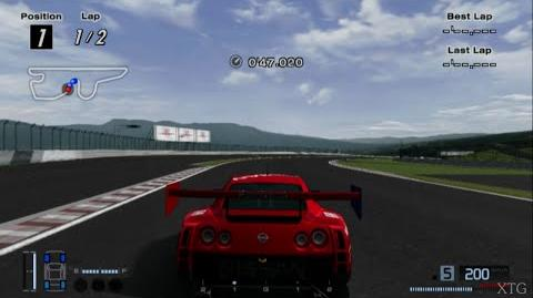 Gran Turismo 4 - Nissan GT-R Concept LM Race Car HD PS2 Gameplay