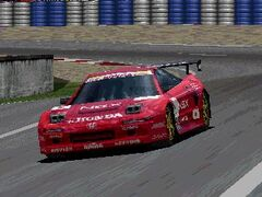 Honda NSX-R GT1 Turbo (Red)