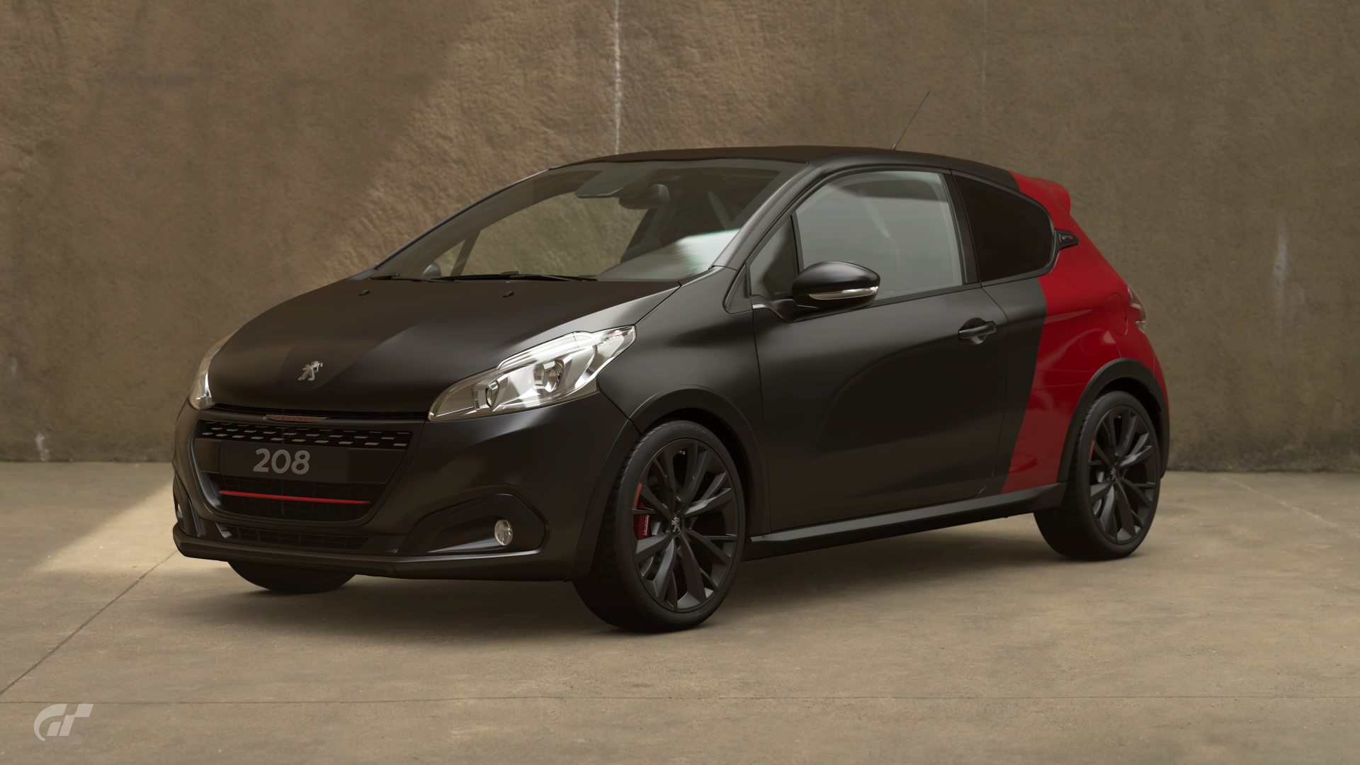 peugeot 208 gti by peugeot sport 39 14 gran turismo wiki fandom powered by wikia. Black Bedroom Furniture Sets. Home Design Ideas