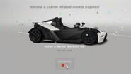 GT6 Prize Car License Gold