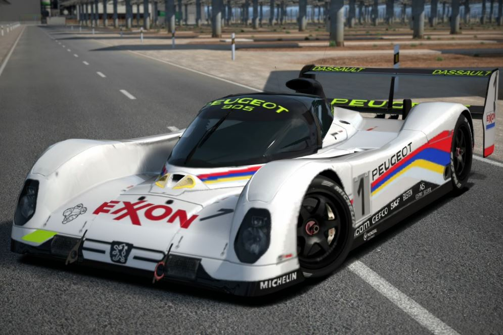 The Peugeot 905b Evo 1 Bis Lm 92 With Eon Branding In Gran Turismo 6
