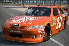 2011 Joey Logano ♯20 The Home Depot TOYOTA CAMRY '11